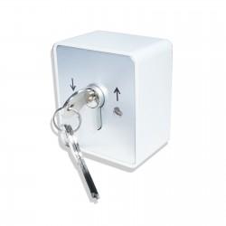 Schlüsselschalter 2-Kanal als Aufputz- oder Unterputzschalter