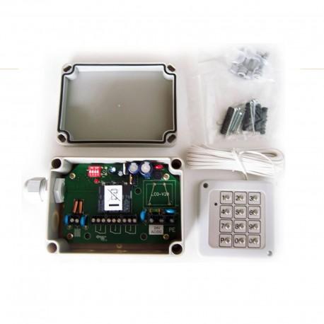 Codeschloss KCS3 Edelstahl-Tastatur 24V