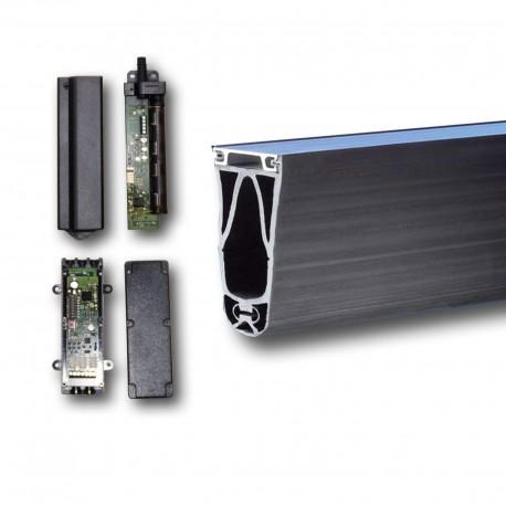 Sicherheitskontaktleiste elektrisch 65 mm hoch 2000 mm lang