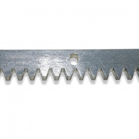 Zahnstange Schiebetor Metall Modul 4 Edelstahl oder verzinkt
