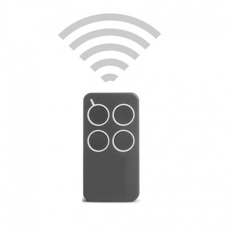 handsender 4 kanal 433 mhz rolling code funkhandsender hatecpro. Black Bedroom Furniture Sets. Home Design Ideas