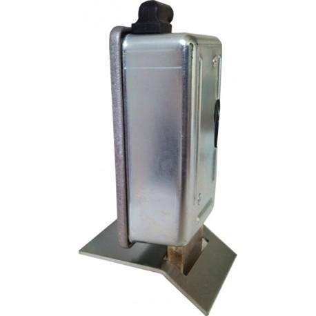 Elektroschloss 12 V zur Verriegelung der Drehflügeltore mit Beschlag zur vertikalen Veriegelung