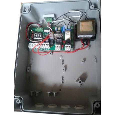 Motorsteuerung Q60S Platine mit Trafo im Gehäuse