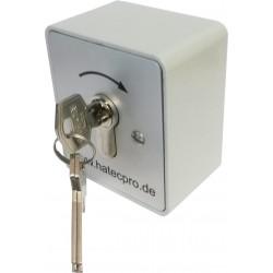 Schlüsselschalter 1-Kanal Aufputz (Metall-Gehäuse)