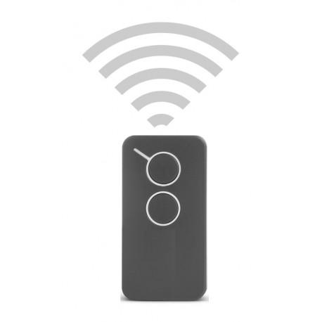 Handsender 2-Kanal 433 MHz Rolling Code Funkhandsender