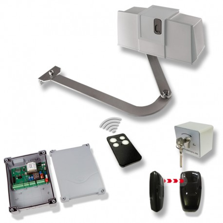 Hebelarm Tor Antrieb Drehtorantrieb Supersimply Kit 1 flg