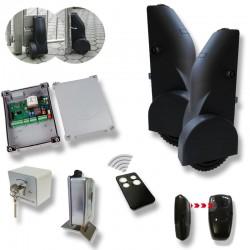 Treibrad-Drehtorantrieb Wheeler KOMPLETT-Kit für 2-flügelige Drehtore