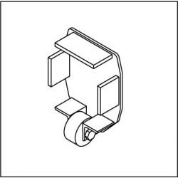 Kopfdeckel mit Stützrolle KSR160