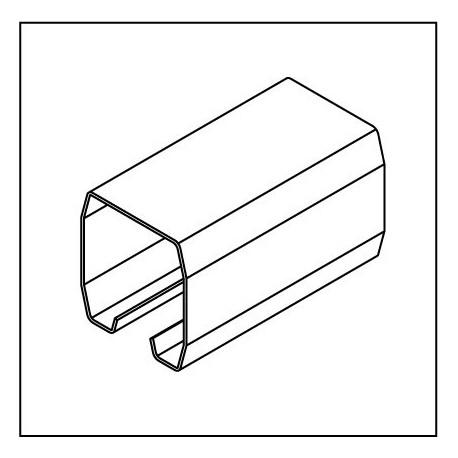 Laufrollenprofil LRP160W Lagerlänge 6m