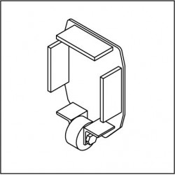 Kopfdeckel mit Stützrolle KSR192