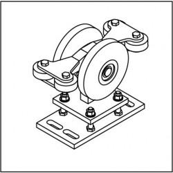Laufrollenbock LRB192-4QG höhenverstellbar