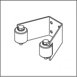 Einlaufgabel ELG 075 mit Polyamidrollen