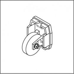 Kopfdeckel mit Stützrolle FST095