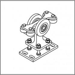 Laufrollenbock LRB095-4QG