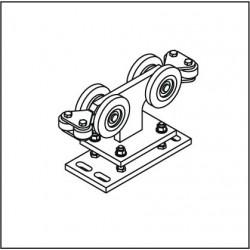 Laufrollenbock LRB107A höhenverstellbar