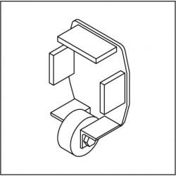 Kopfdeckel mit Stützrolle KSR130