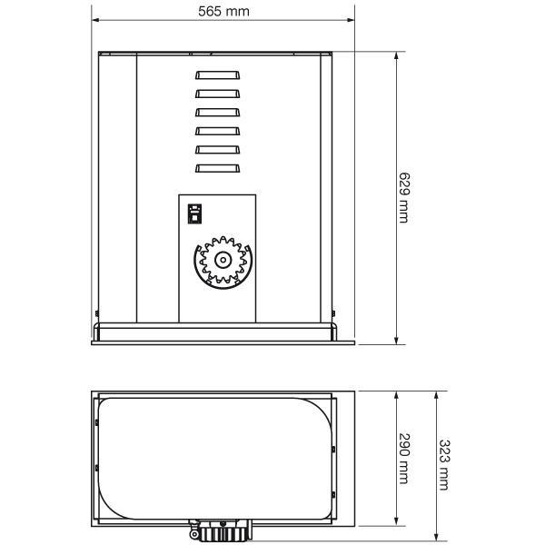 Schiebetorantrieb Torantrieb Roller 40 Bis 4000 Kg