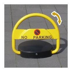 Akku Parkplatzsperre